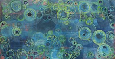 Painting - Tides by Laurie Maves ART