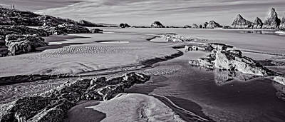 Photograph - Tides Out At Seal Rock Beach by Thom Zehrfeld