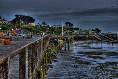 Photograph - Tides Out In Bandon  by Thom Zehrfeld