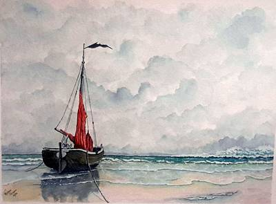 Painting - Tide's Out by Richard Benson