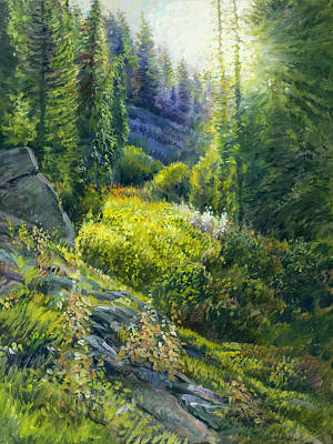 Painting - Tie Canyon Sunrise by Steve Spencer