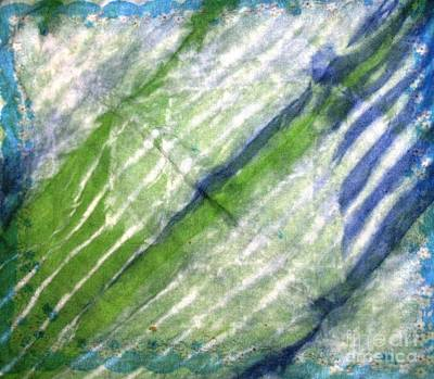 Photograph - Tie Dye Art. Rainforest In Spring by Ausra Huntington nee Paulauskaite