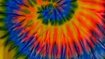 Tie Dye Art Print by Dennis Dugan
