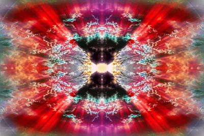 Digital Art - Tie Dye Sky by Gordon Dean II