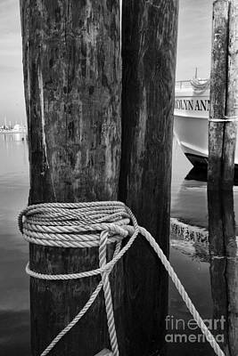 Seaside Heights Photograph - Tied On by Paul Ward