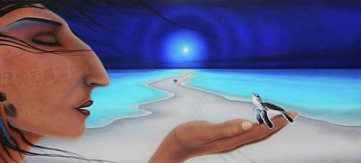 Painting - Tiempo Y Espacio Version Lv by Angel Ortiz
