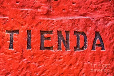 Photograph - Tienda  by Patricia Hofmeester