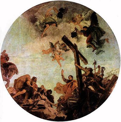 Digital Art - Tiepolo Discovery Of The True Cross by Giovanni Battista Tiepolo