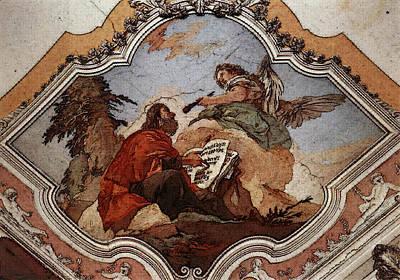Digital Art - Tiepolo Palazzo Patriarcale The Prophet Isaiah by Giovanni Battista Tiepolo