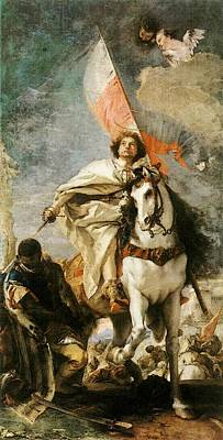 Digital Art - Tiepolo St James The Greater Conquering The Moors by Giovanni Battista Tiepolo
