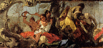 Digital Art - Tiepolo The Scourge Of The Serpents by Giovanni Battista Tiepolo
