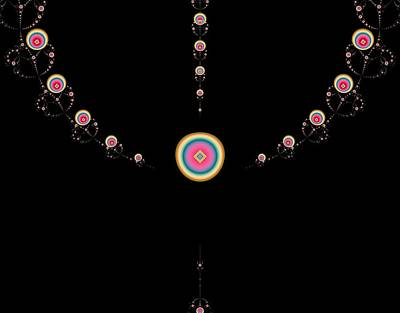 Tiered Necklace Art Print by Thomas Smith