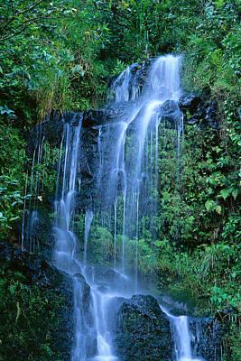 Bill Brennan Photograph - Tiered Waterfall by Bill Brennan - Printscapes