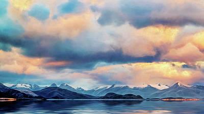 Photograph - Tierra Del Fuego by Maria Coulson