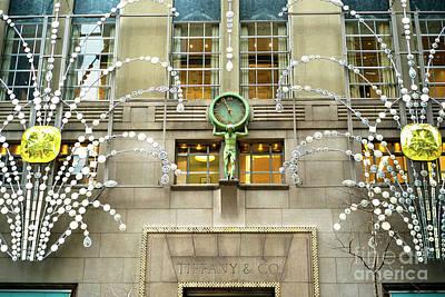 Photograph - Tiffany And Company Christmas Diamonds by John Rizzuto