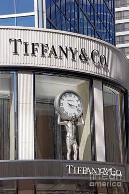 Photograph - Tiffany And Company Vancouver by John  Mitchell
