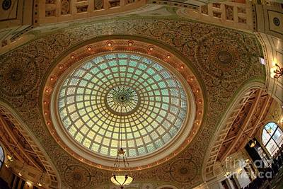 Photograph - Tiffany Dome - H D R by David Bearden