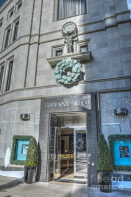 Photograph - Welcome To Tiffanys by David Zanzinger
