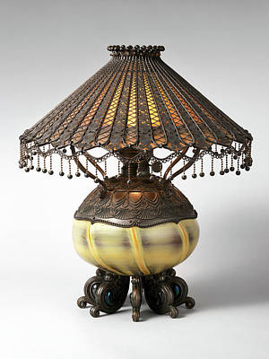 Photograph - Tiffany Lamp 21317 by Rospotte Photography