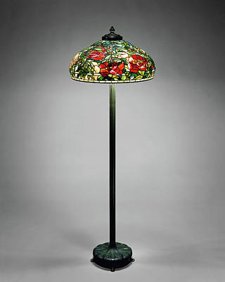 Photograph - Tiffany Vintage Floor Lamp by Rospotte Photography