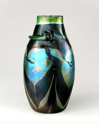 Photograph - Tiffany Vintage Vase by Rospotte Photography