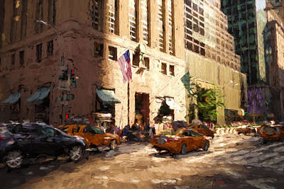 Digital Art - Tiffany's 5th Ave, New York by Matthew Ashton