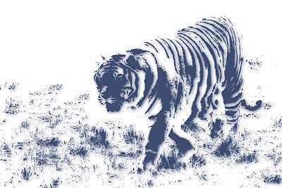 Tiger 3 Art Print by Joe Hamilton