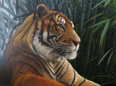 Tiger And Bamboo Original