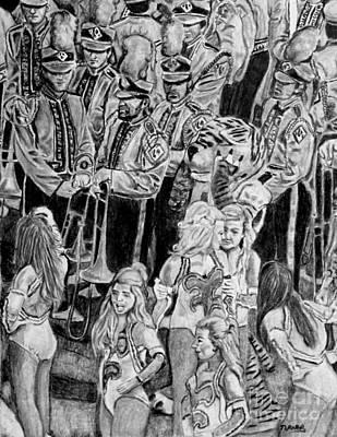 Tiger Band Original by Jan Turner