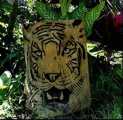 Tiger Print by Calixto Gonzalez