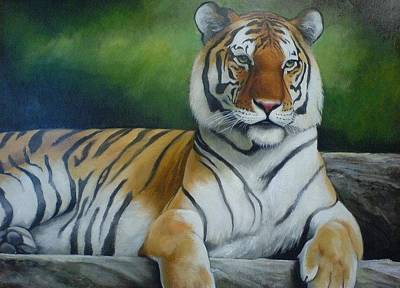 Calvin Painting - Tiger  by Calvin Carter