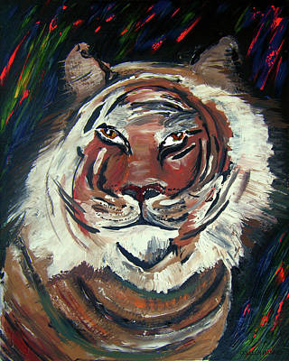 Painting - Tiger by Colleen Ranney