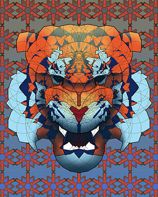 Detroit Tigers Art Digital Art - Tiger by Dusty Conley
