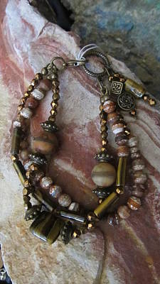 Jewelry - Tiger Eye #b004 by Barbara Prestridge