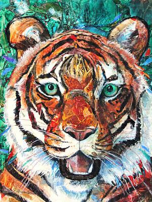 Tiger IIi Original by Patricia Allingham Carlson