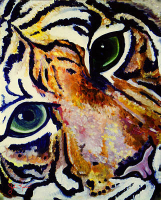 Painting - Tiger  by John Keaton