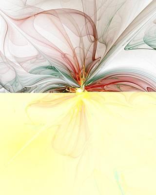 Apophysis Digital Art - Tiger Lily by Amanda Moore