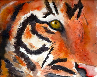 Painting - Tiger by Rhonda Hancock