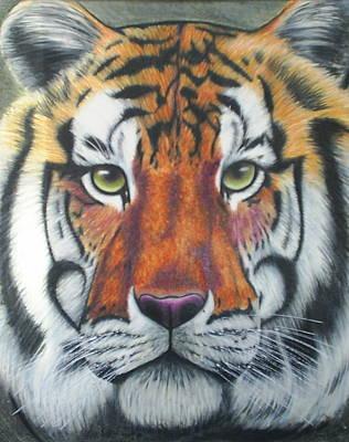 Tiger Art Print by Scarlett Royal