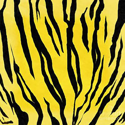 Painting - Tiger Skin Square by Edward Fielding
