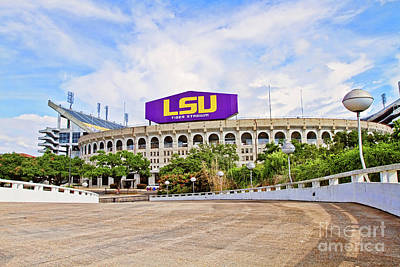 Photograph - Tiger Stadium - Hdr by Scott Pellegrin