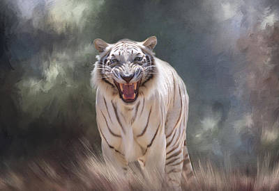 Photograph - Tiger Talk by Donna Kennedy