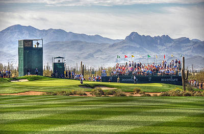 Arizona Golfer Photograph - Tiger Time by Michael Biggs
