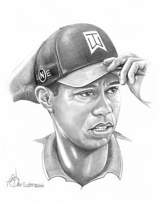 Tiger Woods Game On Original by Murphy Elliott