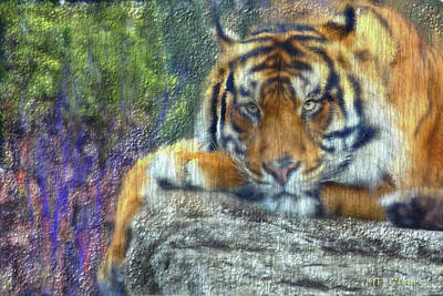 Digital Art - Tigerland by Michael Cleere
