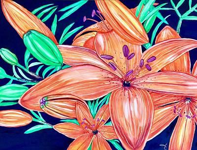 Tigerlilies Original