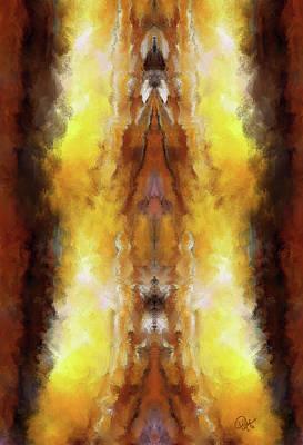 Digital Art - Tigers Eye 1 by Debora Nash