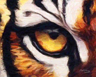 Tiger's Eye Original by Bill Fleming