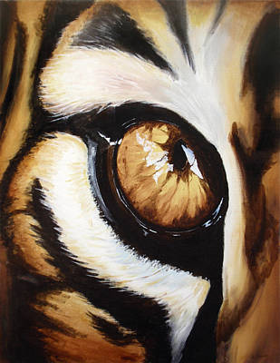 Tiger's Eye Print by Lane Owen