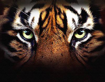 Book Of Life Digital Art - Tiger's Eye by Robert Foster